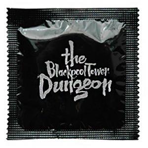 Printed Condom Foils in Black