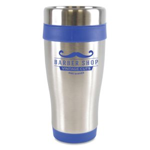 Custom Printed travel mugs for business gifts