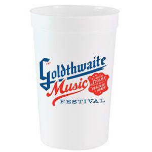 Branded Party Cups are ideal for festivals