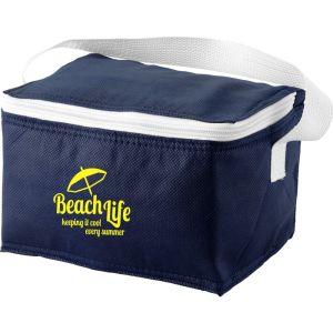 Compact Cooler Bag in Navy