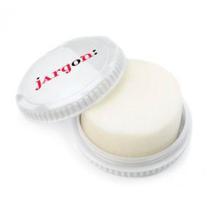 Travel Shoe Polish Sponge in White