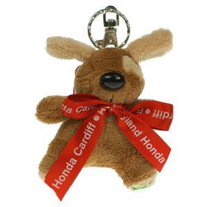 Keychain Dog in Brown