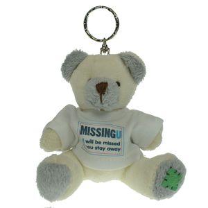 Keychain Bear in Cream