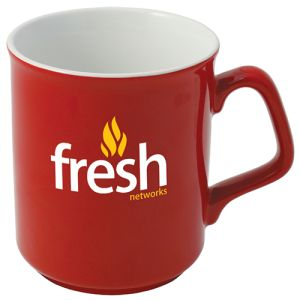 Promotional coffee cups for desk advertising