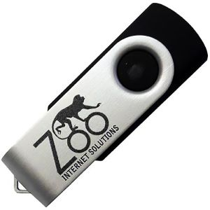 Promotional memory stick for storing data