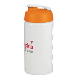 Pick from 6 bottle colours & 11 colours for the lid of these logo-printed protein shaker bottles.