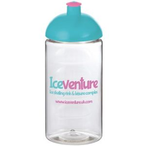Corporate branded bottles with company artwork