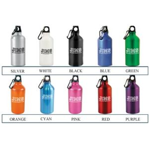 Promotional bottles with corporate branding