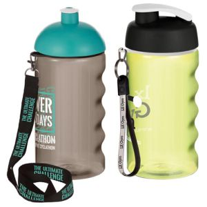 Printed sports bottles for sports merchandise