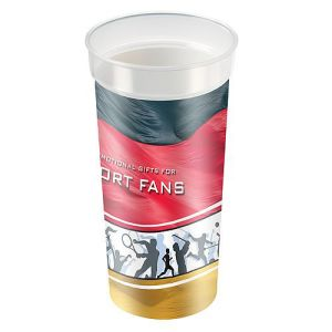 Printed Plastic Cups for Exhibitions