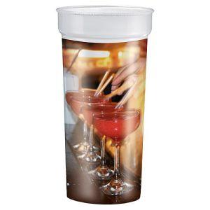 500ml Unbreakable Plastic Cups