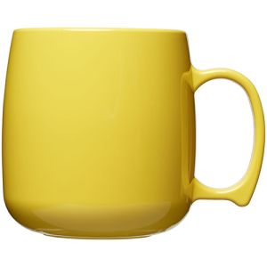 Classic Plastic Mugs in Yellow