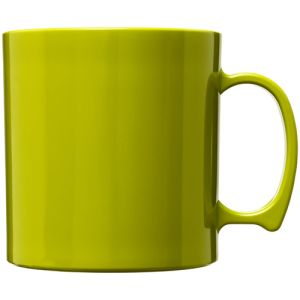 Standard Plastic Mugs in Lime