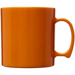Standard Plastic Mugs in Orange