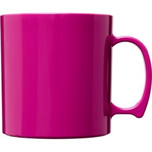 Standard Plastic Mugs in Magenta