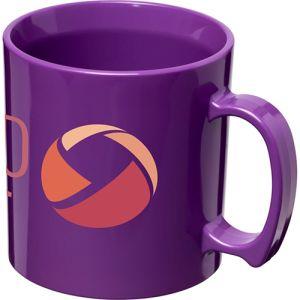 Standard Plastic Mugs in Purple