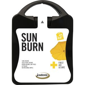 My Kit Sunburn Kit in Translucent Black