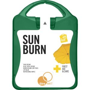 My Kit Sunburn Kit in Translucent Green