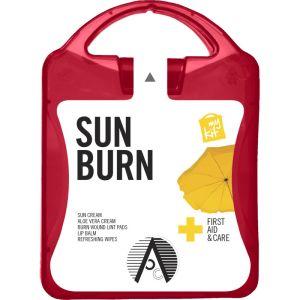 My Kit Sunburn Kit in Translucent Red