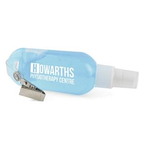 Promotional 50ml Hand Sanitiser Gel with company logos
