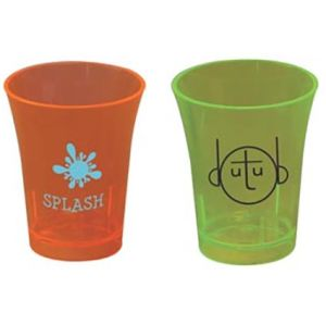 50ml Reusable Plastic Shot Glasses