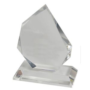 Promotional Medium Optical Crystal Trophy for Event Gifts