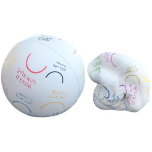 These printed stress balls are printed in full colour for vibrant brand awareness.