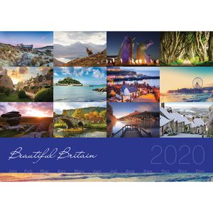 Corporate branded calendars for marketing giveaways