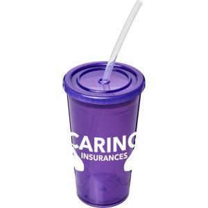 Stadium Cups in Purple