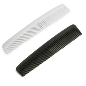 This promotional comb is available in black or white, with your artwork printed in 1 colour.