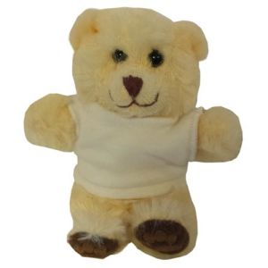 Promotional 5 Inch Chester Bear with T Shirt for Childrens Merchandise