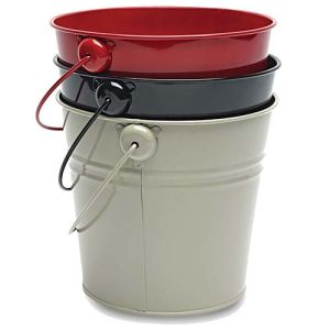 Personalised Metal Buckets are ideal as Wine Coolers