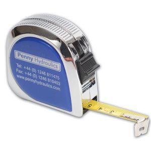 Chrome 5m Tape Measure