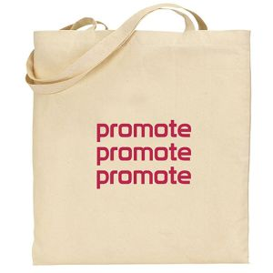 5oz Square Cotton Tote Bags