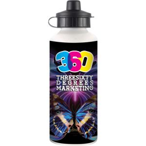 600ml Full Colour Metal Sport Bottles