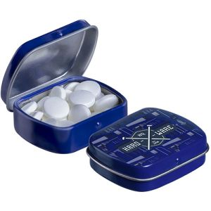 Micro Hinged Mint Tins in Blue