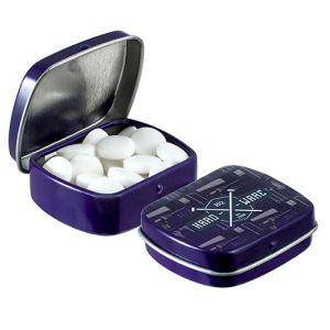 Micro Hinged Mint Tins in Purple