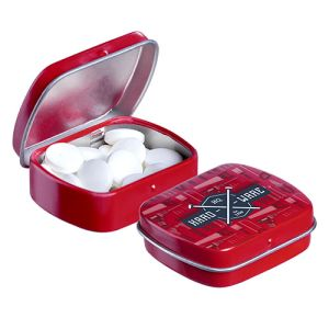 Micro Hinged Mint Tins in Red