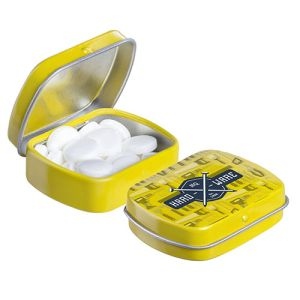 Micro Hinged Mint Tins in Yellow