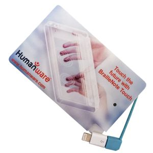 Branded Card Power Banks for promotional events