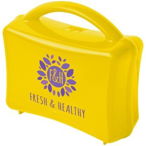 Junior Lunchboxes in Yellow