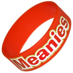 Promotional Extra Wide Printed Silicone Wristbands Printed with Your Campaign Message