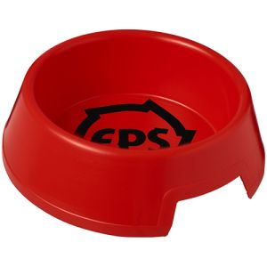 Pet Food Bowls in Red
