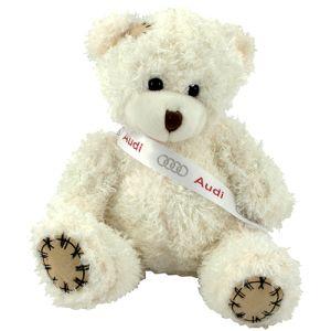 12cm Paw Teddy Bears in Latte
