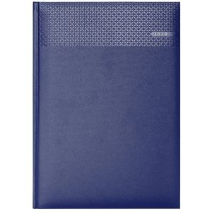 Branded A4 Matra Daily Diary for business gifts in Blue