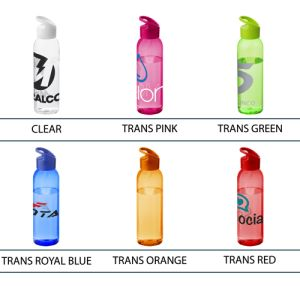 Custom branded water bottles for offices colours