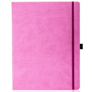 Ivory Tucson Large Notebooks with Pencil in Pink
