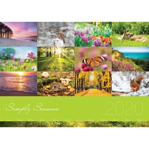 Company desk calendars for printed with artwork