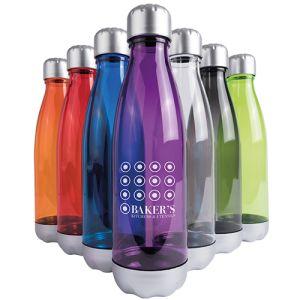 Printed water bottles for festivals