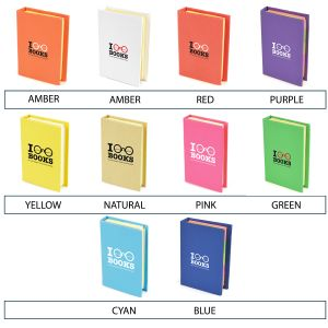 Will colour cover will you choose for your promotional Hard Back Flag Pad?
